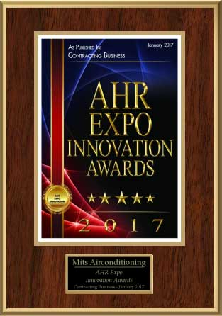 AHR Expo Innovation Award 2017